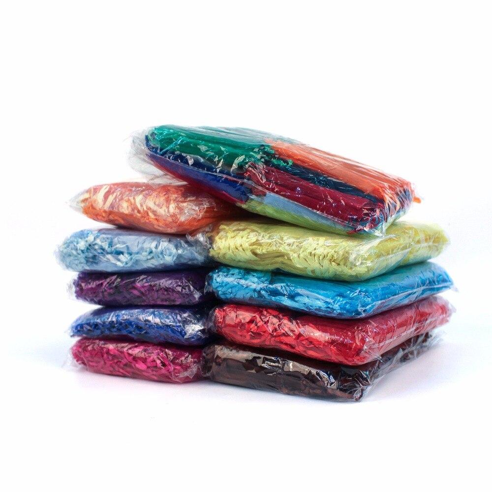 Купить сумки из органзы 50 шт 21 цвет 7x9 9x12 10x15 13x18см