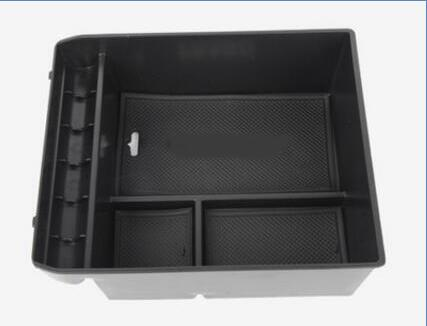 Armrest Storage Box For Toyota Land Cruiser Prado J120 Without Fridge Center Console Container Bin Tray Case 2003 2009