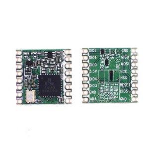 Image 2 - 100pcs/lot RFM95 RFM95W 20dBm 100mW 868Mhz 915Mhz DSSS spread spectrum wireless transceiver module SX1276 SX1278 lora module
