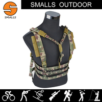 military gear hunting accessories airsoft molle system multi fuctional Tactical Vest Chest Hanging Type with single point sling