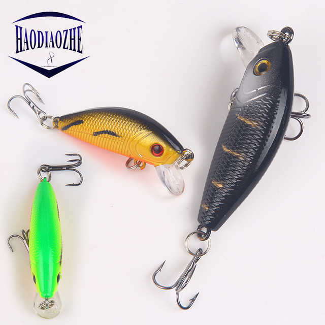 Minnow Fishing Lures 5cm 4g Floating Isca Artificial Japan Hard Bait Bass Topwater Pesca Wobblers Crankbait Carp Fishing Tackle 1