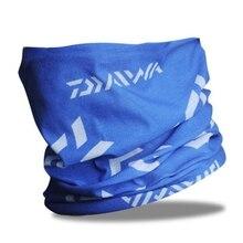 Daiwa Men's Fishing Kerchief Cotton Unisex Cycling Bandana Anti-UV Fishing Scarf Summer Breathable Pesca Accesorios