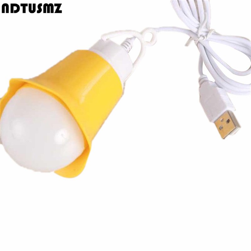 Mini USB LED Night Light Lamps Bubble Ball Bulb ABS Portable Lanterns 360 Degree Book Reading Emergency Saving Camping Lightings