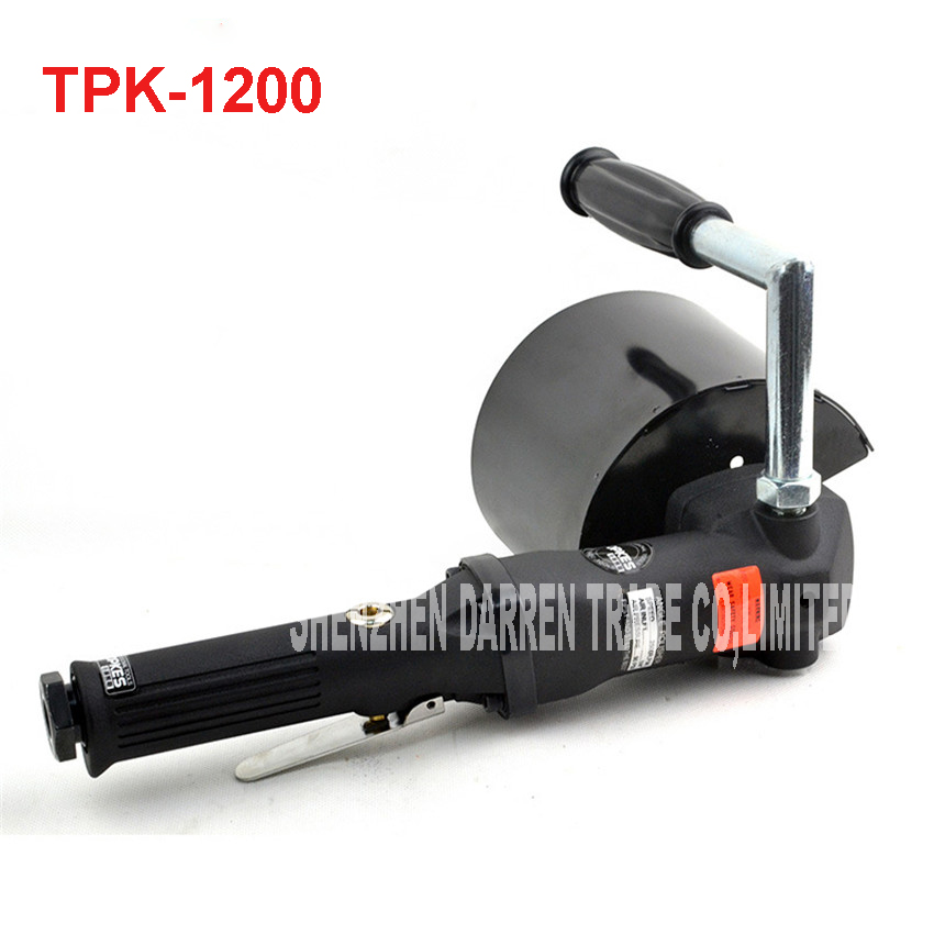 TPK-1200 Pneumatic Wire Drawing Machine Portable Air Brushed Drawing Grinder Metal Polisher Polishing Machine 2500r.p.m
