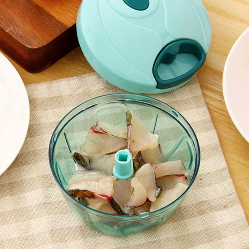 Multifunctional Hand Pull Meat Grinder Onion Garlic Chopper Fruits and Vegetables Shredder Kitchen Accessories Tools 3