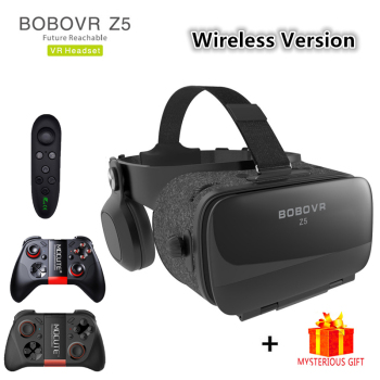 Bobovr Z5 Bluetooth Bobo Casque VR Virtual Reality Glasses 3d Goggles Headset Helmet For Smartphone Smart Phone Google Cardboard