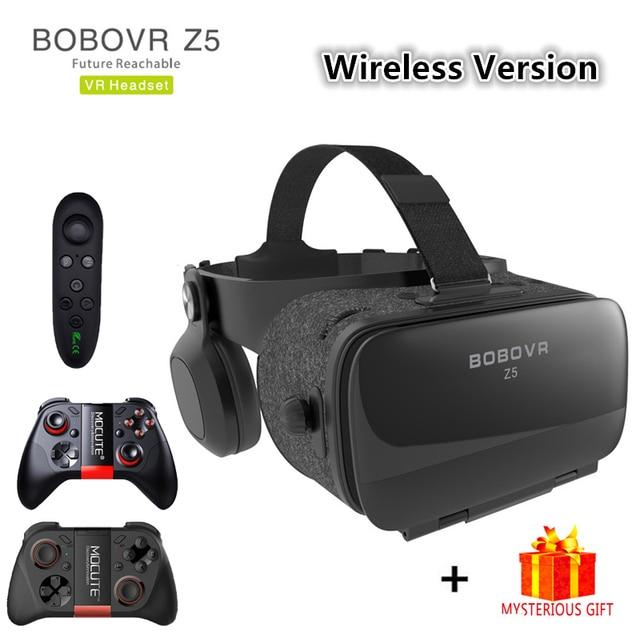 Bobovr Z5 Bluetooth Bobo Casque VR Virtual Reality Glasses 3d Goggles Headset Helmet For Smartphone Smart Phone Google Cardboard