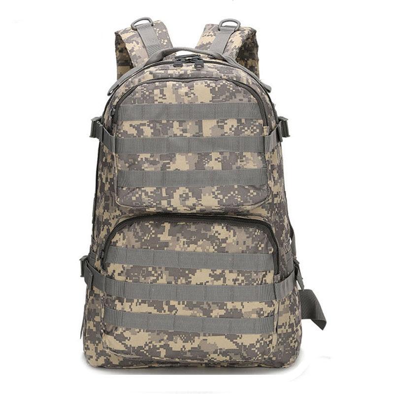 JUFIT 45L Military Tactical Backpack Trekking Backpacks Camouflage Rucksack Molle Bag Waterproof Men Women Outdoor Bags Packs