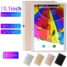 OEM BRAND 10.1 Inch IPS HD Screen Android 8.0 Dual SIM Slot Camera 2+32GB Tablet PC Quad Core 2560 X1600 WiFi GPS 3G phone Call(China)
