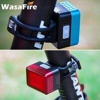 Fahrrad Hinten Bike Licht Radfahren Automatische Bremse Induktion Rücklicht MTB USB Ladung Atmungsaktive LED Taschenlampe Bike Sicherheit Lampe