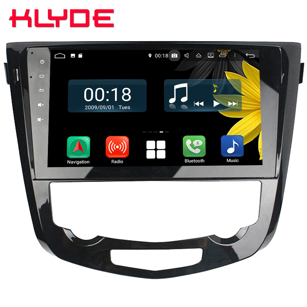 10.1 IPS Octa Core 4G Android 8.1 4 GB RAM 64 GB ROM RDS BT Voiture DVD Lecteur radio GPS Glonass Pour Nissan Qashqai X-trail 2013-2017