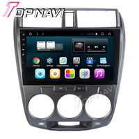 WANUSUAL 10 1inch Quad Core Android 6 0 Car DVD GPS For Honda CITY 2008 2009