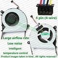 Testado nova marca CPU Fan para ASUS X455LD X455CC A455 A455L K455 X555 A555L K555 Laptop substituição reparação ventilador cooler