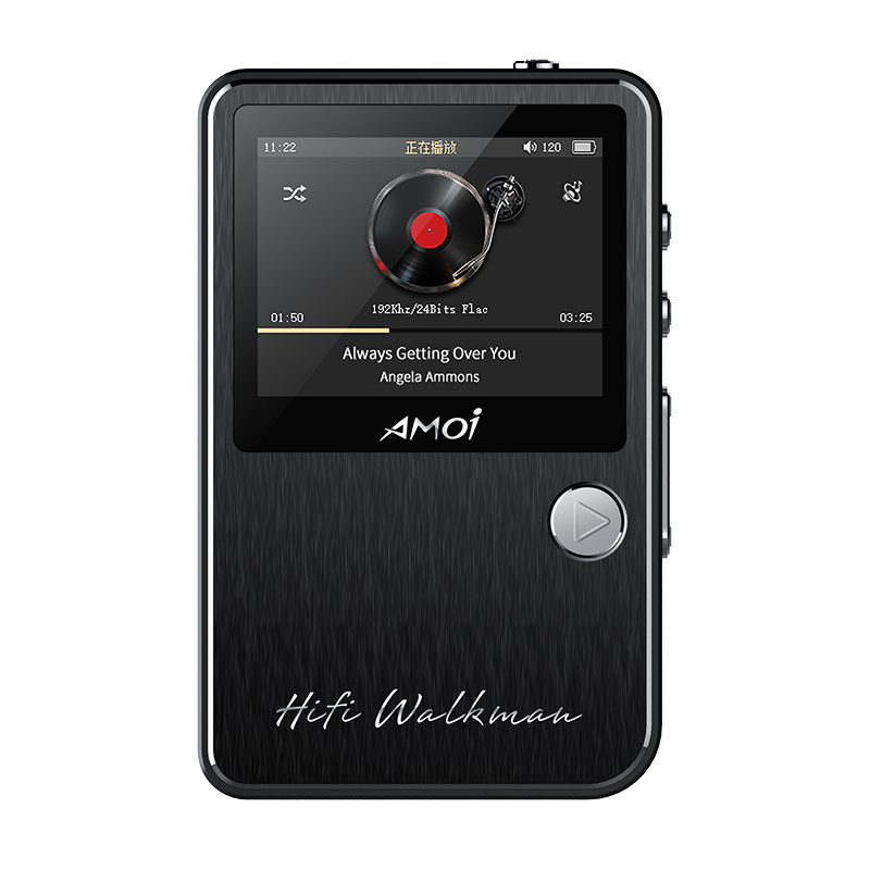 Amoi C50 Professional HIFI Stereo Lossless DAC MP3 Music Player Audiophile Full Format DSD Decoding Support 128G TF Card Walkman