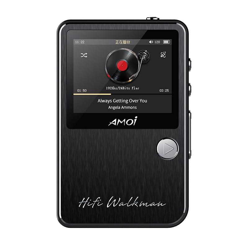 Amoi C50 professionnel HIFI stéréo sans perte lecteur de musique MP3 Audiophile plein format décodeur Support 128 GB TF carte walkman