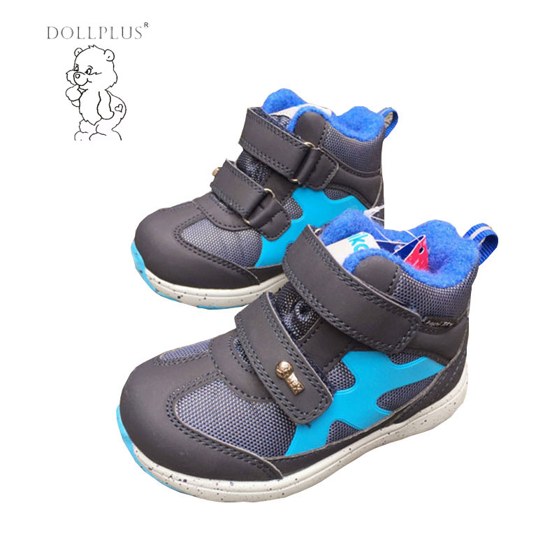 Baby Warm Winter Shoes Snow Boots Comfortable  Non - Slip Rubber Outdoor Sports Shoes Boys Girl Shoes Eur 22-26 baby boots winter boy snow boots brand newborn leather baby boots for girl baby shoes infant kid shoes first walkers moccasins