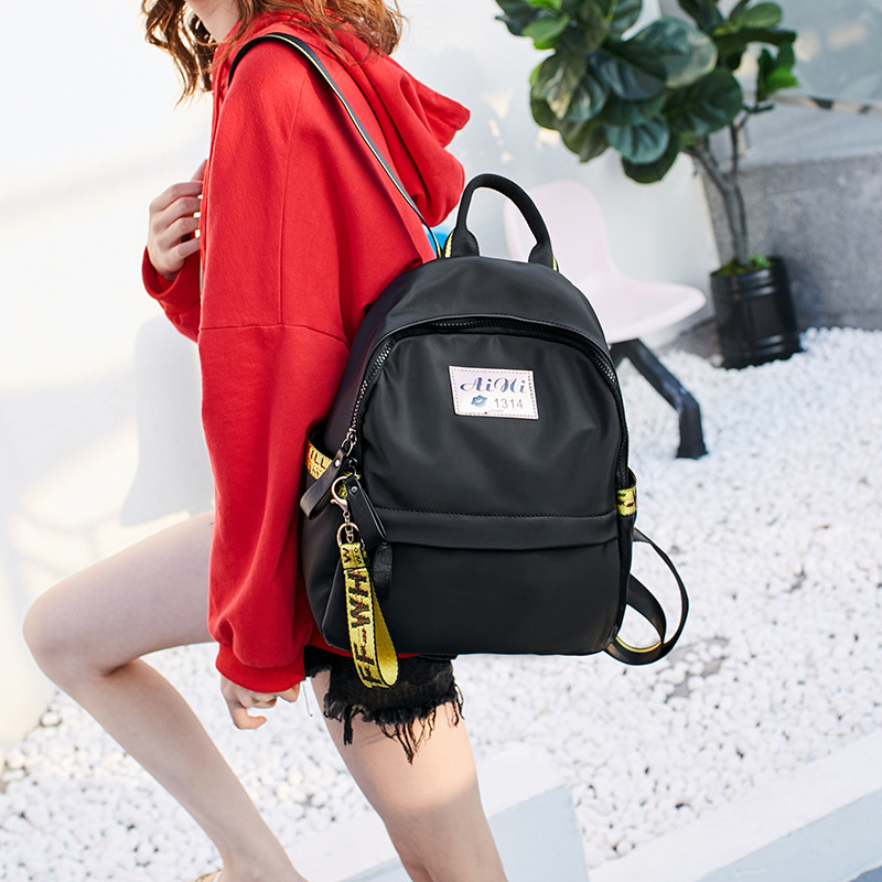 Backpack female Korean 2017 new fashion all-match Oxford cloth bag bag capacity rdgguh backpack bag new of female backpack autumn and winter new students fashion casual korean backpack