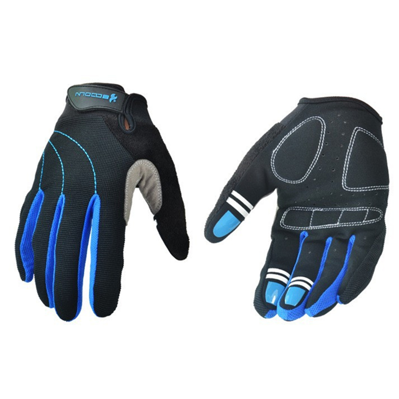 Outdoor Bicycle Cycling Riding Gloves Winter Long Warm Wind Resistant Shock Cycling Gloves 4 color optional Ride Cycling Gloves