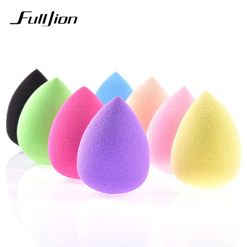 fulljion makeup foundation sponge cosmetic puff flawless powder smooth liquid cream blending