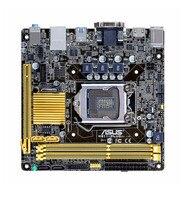 original motherboard ASUS H81I PLUS LGA 1150 DDR3 16GB USB2.0 USB3.0 Mini ITX HTPC Computer mainboard H81 Desktop motherboard