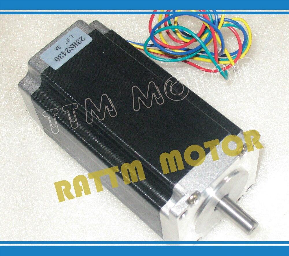 Buy nema23 cnc stepper motor 112mm 425oz for Stepper motor buy online