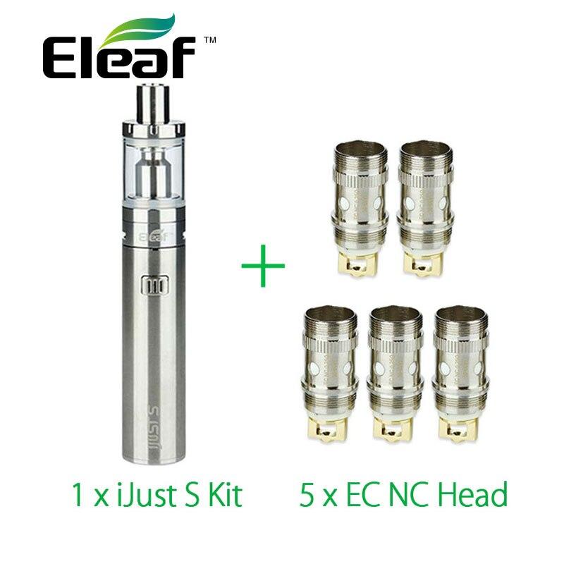 Eleaf IJust S Full Kit Electronic Cigarette 3000mah Battery With 5pcs Eleaf EC NC Coil Ijusts