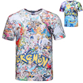 Pokemon ir camiseta para adolescentes varones camisa de impresión 3D collage eevee pikachu Charmander pocket monster ball adolescente traje de cosplay