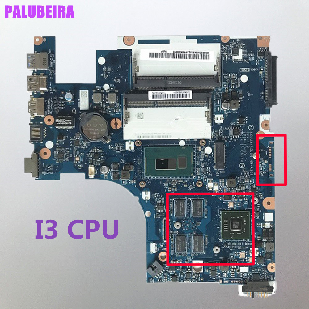Palubeira Acluc3 Aclu4 Nm A361 Laptop Motherboard For Lenovo G50 80 Test Original Mainboard I3 Cpu R5 With Vga Chip September 2020