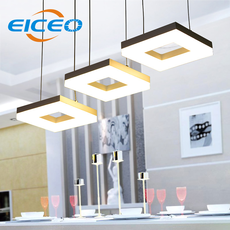 (EICEO) LED Pendant Lamp Restaurant Three Stylish Minimalist Living Room Chandelier Lamps Acrylic chandelier Creative Light plastic enclosure for electronic box waterproof plastic box for electronic project 200 150 100mm