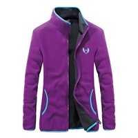 Soft Shell Sport Coat Women 2018 New Polar Fleece Running Jackets Windproof Keep Warm Outdoor Workout Clothing Lady Windbreaker
