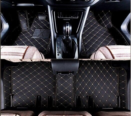 A melhor qualidade! Personalizado tapetes do carro especial para Hyundai Santa fe 5 2019 assentos tapetes à prova d' água para Santafe 2019, Frete grátis