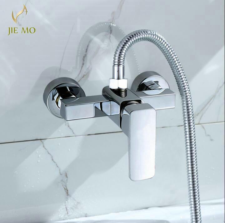 Brass Wall Mount Bathroom Faucet