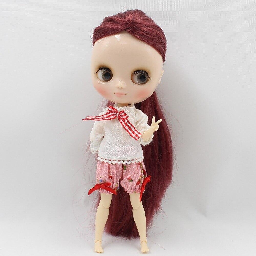 Middie Blythe Doll Pants Shirt HeadDress & Stocking 1