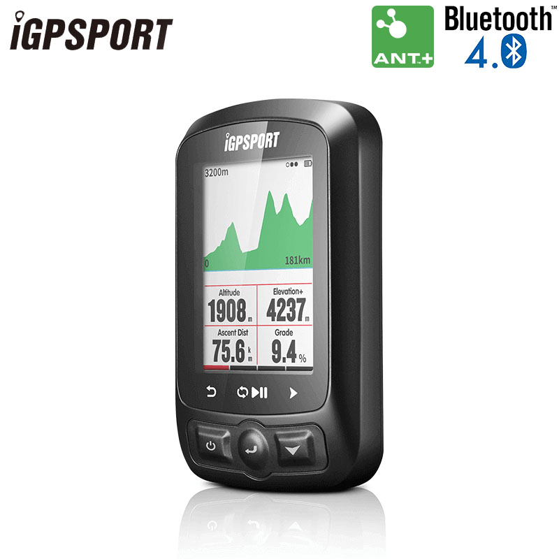 IGPSPORT IPX7 IGS618E GPS Computador de Bicicleta Sem Fio À Prova D' Água Backlight Computador Equitação Digital Sensor de Cadência Velocidade Do Computador