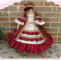 Saint Valentine's Dayrefinement BJD MSD 1/4 baby clothing Palace with luxury fabrics princess dress 2 in stock
