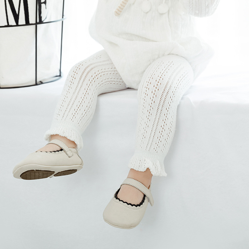 Lace Cotton Kids Leggings for Girls Summer Mesh Baby Pants Capris Children Trousers Baby Girls Legging Clothes for 0-6 Years
