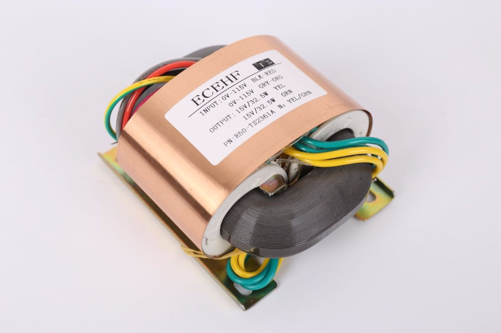 15V 2.16A 15V 2.16A R Core Transformer R50 custom transformer 115V/115V with copper shield for Pre-decoder Power amplifier 15V 2.16A 15V 2.16A R Core Transformer R50 custom transformer 115V/115V with copper shield for Pre-decoder Power amplifier