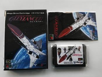 MD Game : GLEY LANCER ( Japan Version!! box+manual+cartridge!! ) 1