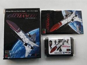 Image 1 - MD Game : GLEY LANCER ( Japan Version!! box+manual+cartridge!! )