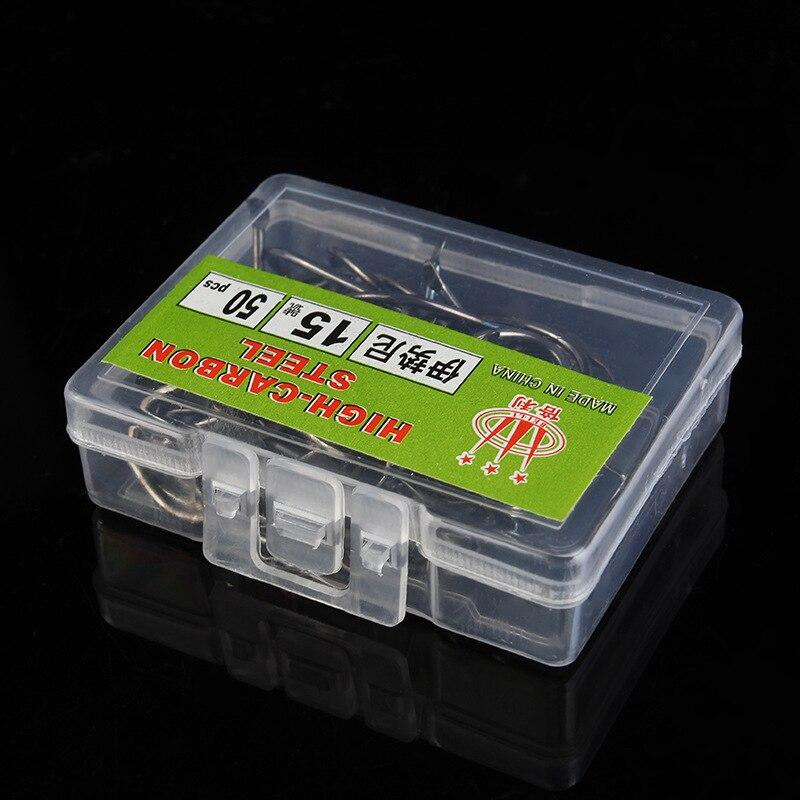 100 шт./компл. углерода Сталь Крючки рукоятки Япония импортировала Крючки 12 Размеры 1 #-12 # Рыболовные приманки мягкие anzol Рыболовные крючки с к...