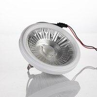 AR111 נורת LED זרקור 110 V/220 V ניתן לעמעום 12 W דיור אלומיניום 3000/4000/5000 K החלפת מנורת הלוגן 80 W לתאורה בבית