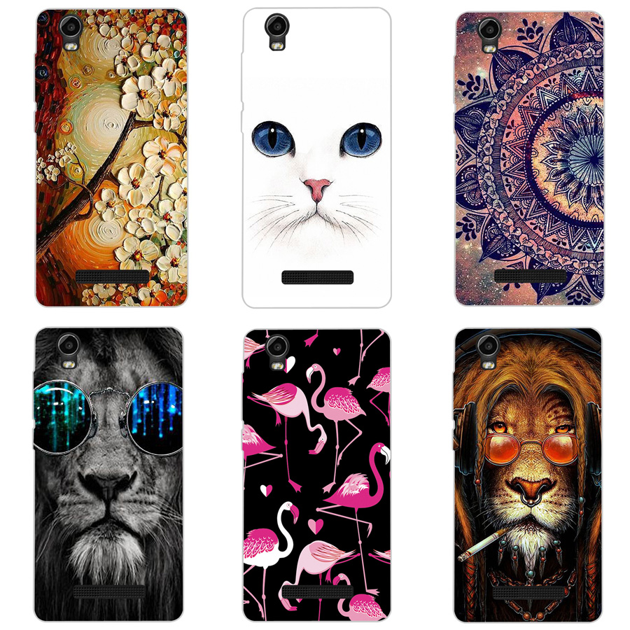 Half-wrapped Case Phone Bags & Cases Independent Custom Diy Photo Phone Case For Alcatel One Touch Pop Star 4g 5070 5.0 Soft Silicone Selfie Pet Family Portrait Cartoon Cover