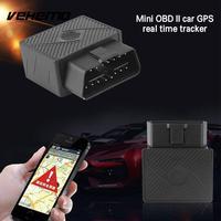 Universal Car Truck GPS Tracker Mini OBD II Real Time Tracking Device 3.7V