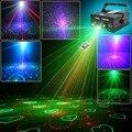 Suny 3 lente 24 padrão clube rg laser azul led Iluminação de palco Projetor de iluminação DJ Luz Partido Home 140 mw Profissional Disco