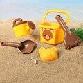 5 Pçs/lote Brinquedos Clássico Brinquedo de Banho de Natação Da Praia do Verão Escavar Praia de areia Ferramenta de Jogo Educacional Toy Para O Bebê Crianças Crianças ao ar livre