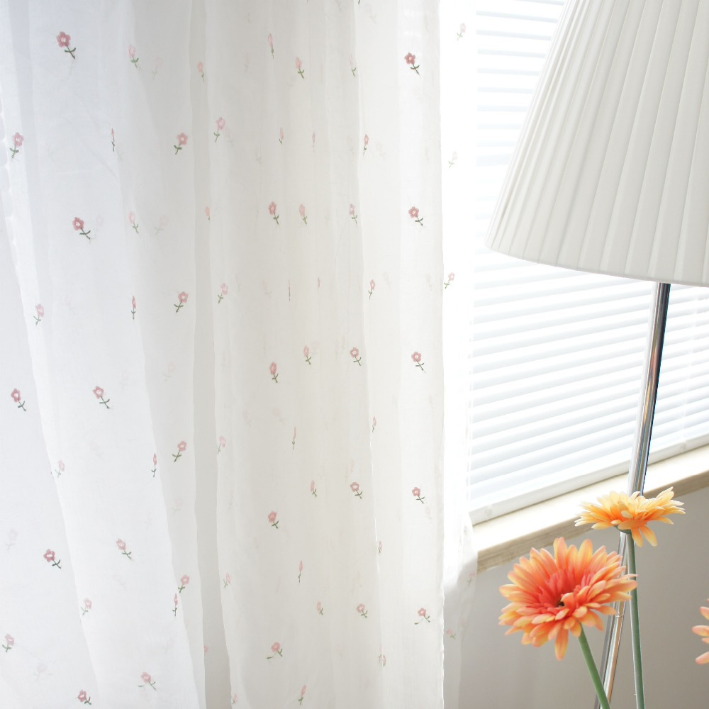 Popular white sheer curtains buy cheap white sheer for Cortinas blancas para salon