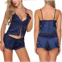 Yufeila New Fashion Ruffle Lace edge Sling Sexy Women Lingerie Underwear Open Hot Sleepwear top panties Sex