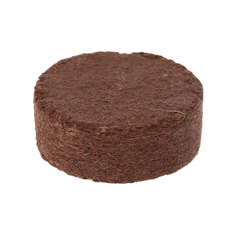 Reptile Coconut Fiber Substrate Bricks Natural Beddings Soil For Terrariums Fish Tank Supplies