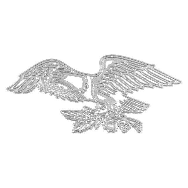 eagle cutting dies hollow out steel template diy scrapbooking