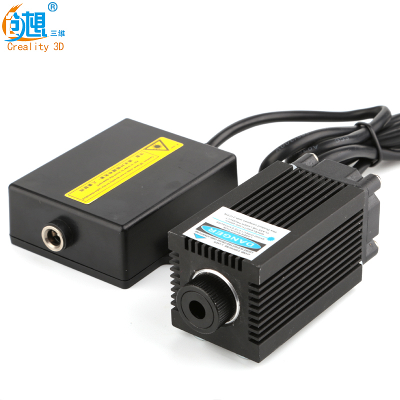 laser for 3d printer High-Power 12V Blue Violet Light Laser Engraving  With Focusing CREALITY 3D Mini parts
